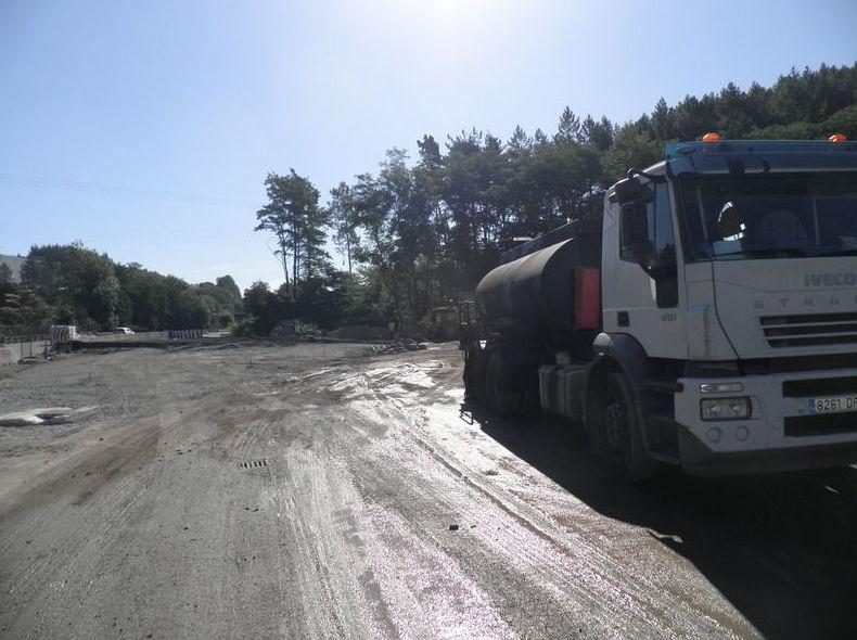 Trabajos de asfaltado y pavimentación