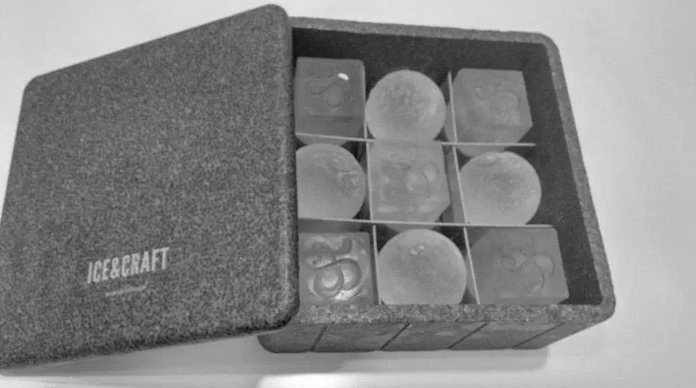 Caja de hielo con diferente forma