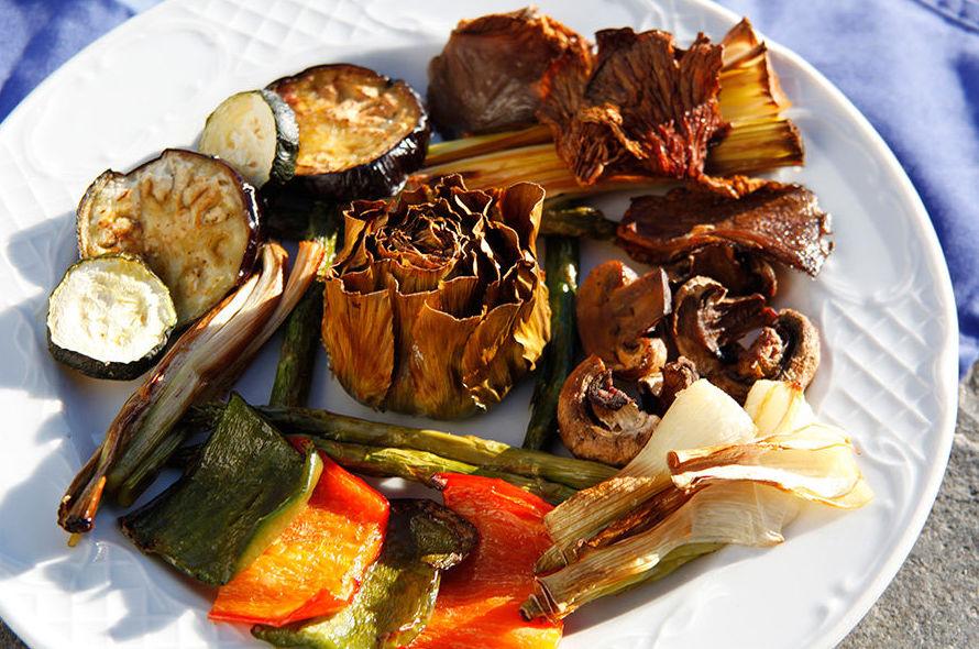 Parrillada de verduras Cadaqués