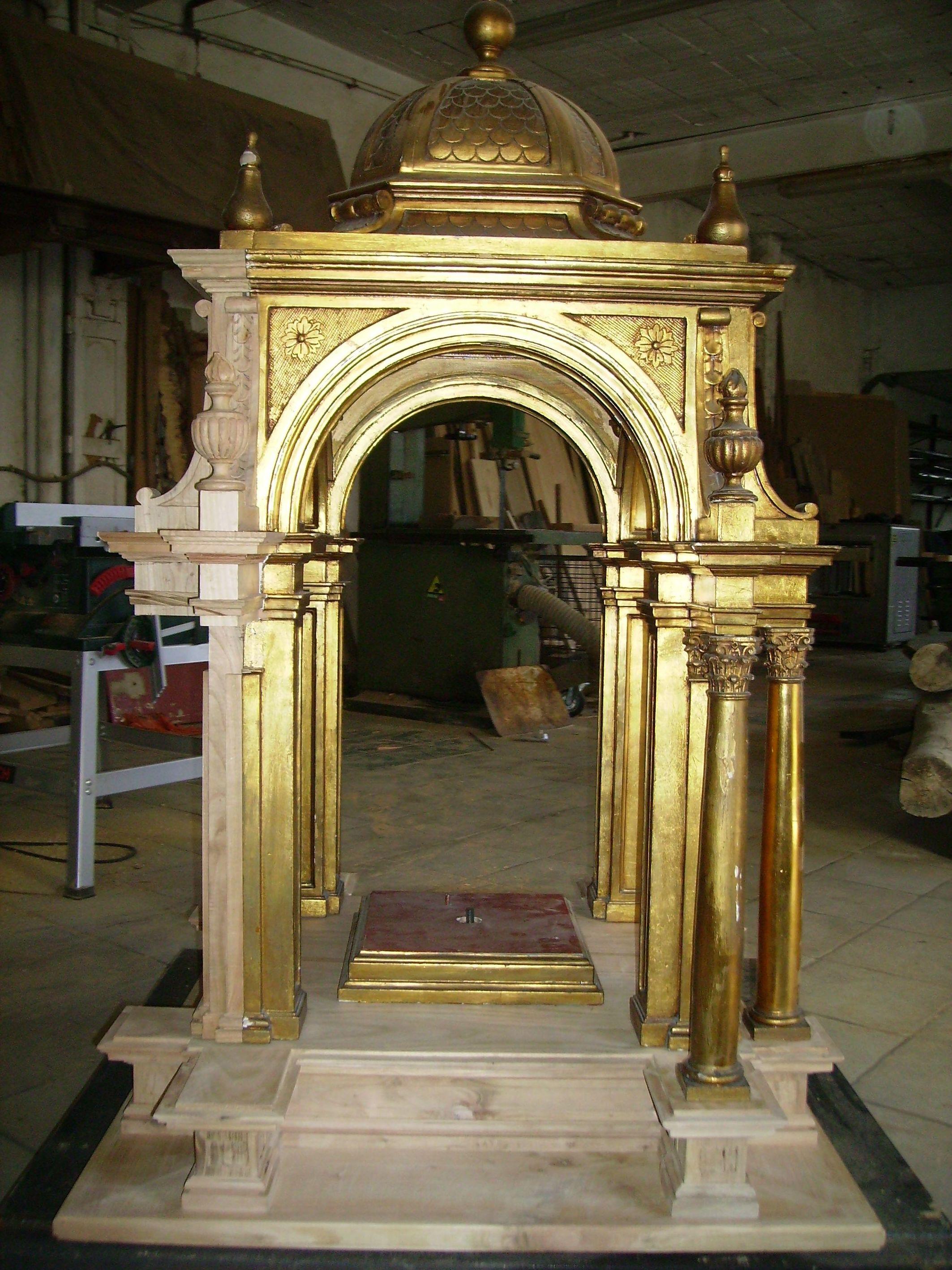 Restauración de bienes históricos de madera