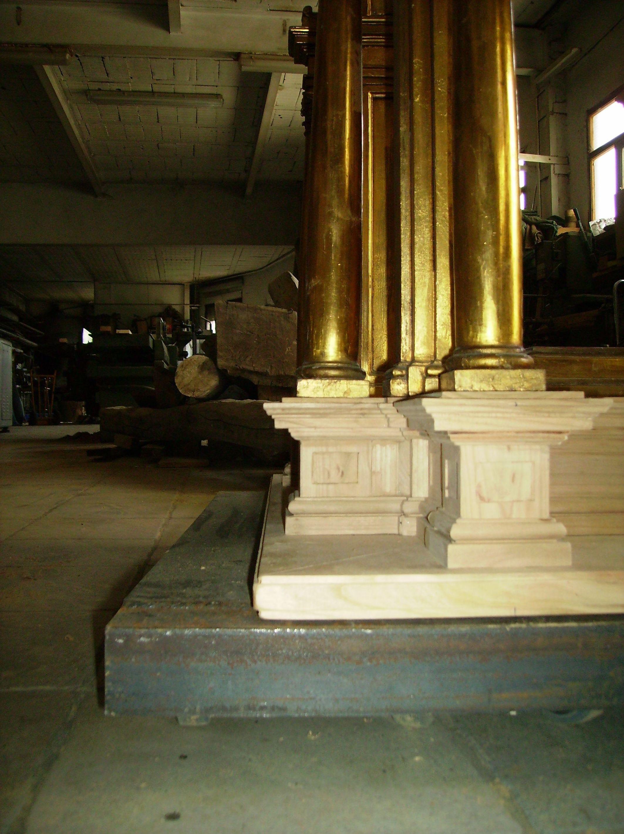 Columnas reformadas