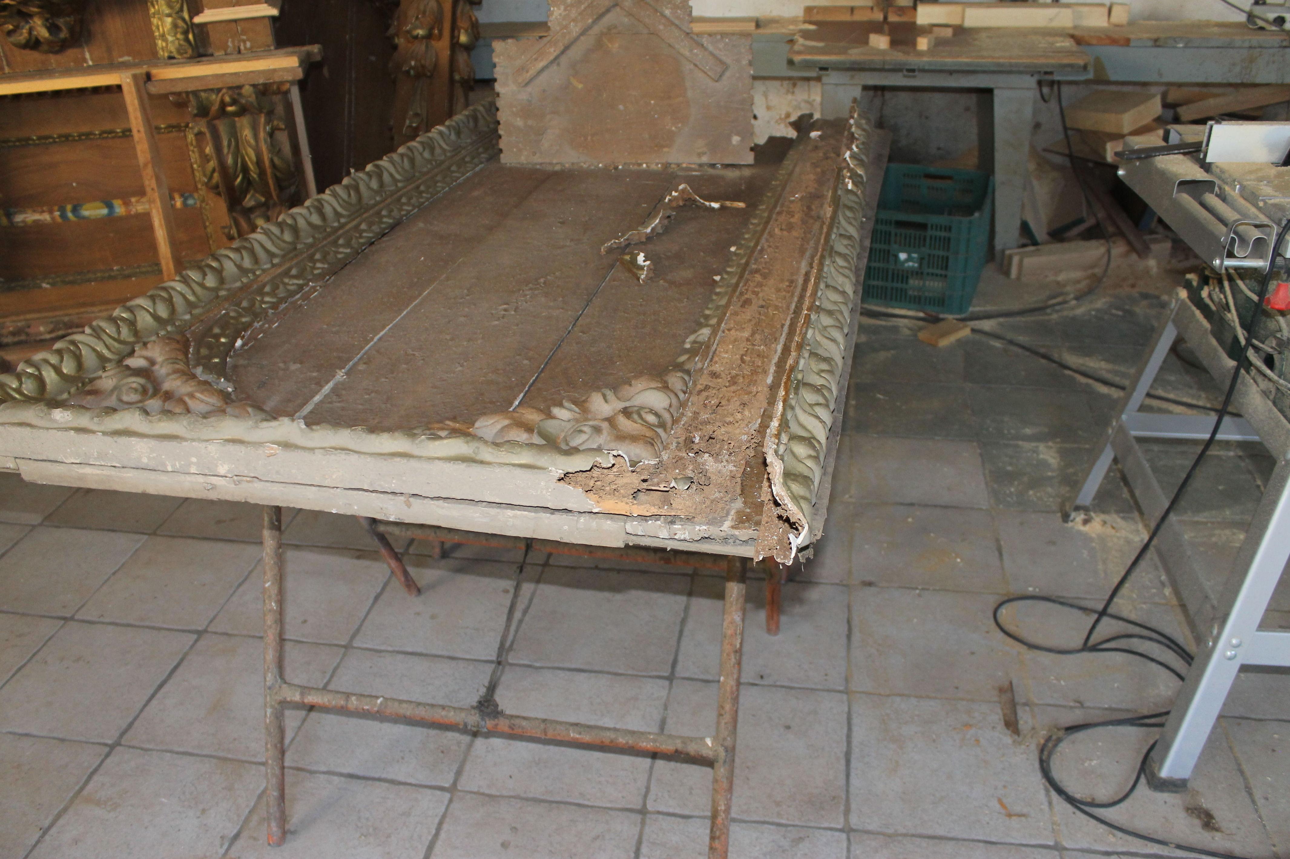 Especialistas en restauración de retablos