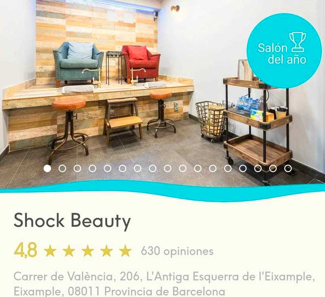 SHOCK BEAUTY: SALON DEL AÑO