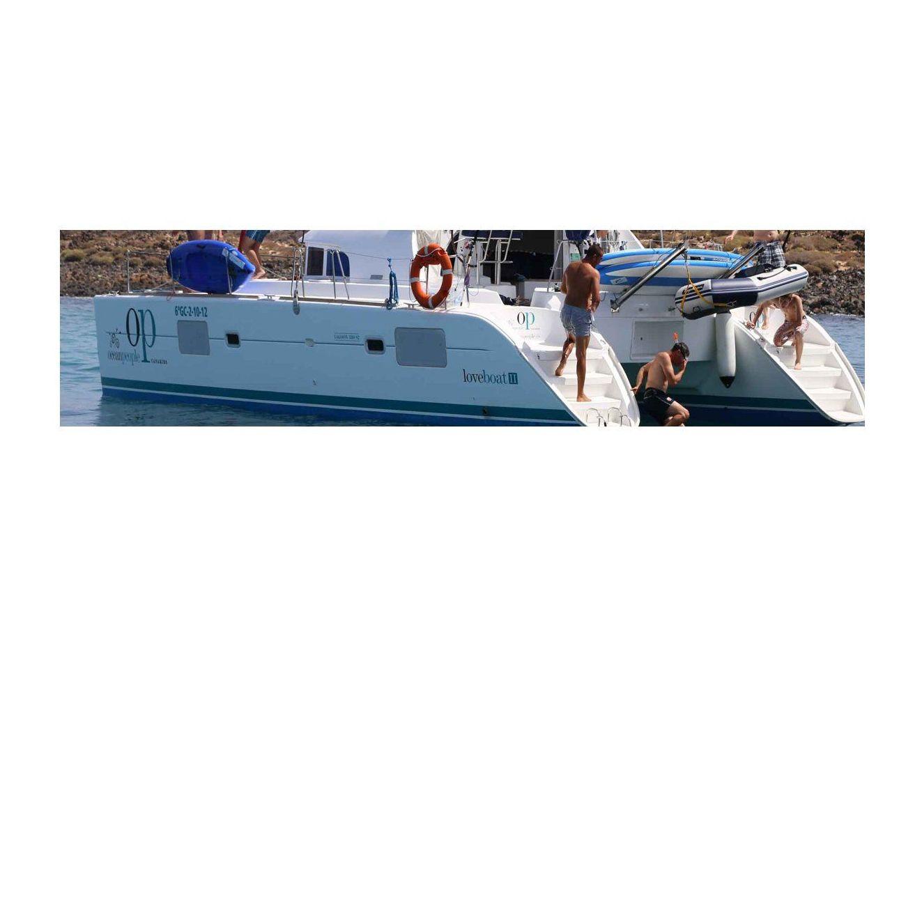 Catamarán (Loveboat II): Servicios de Ocean People