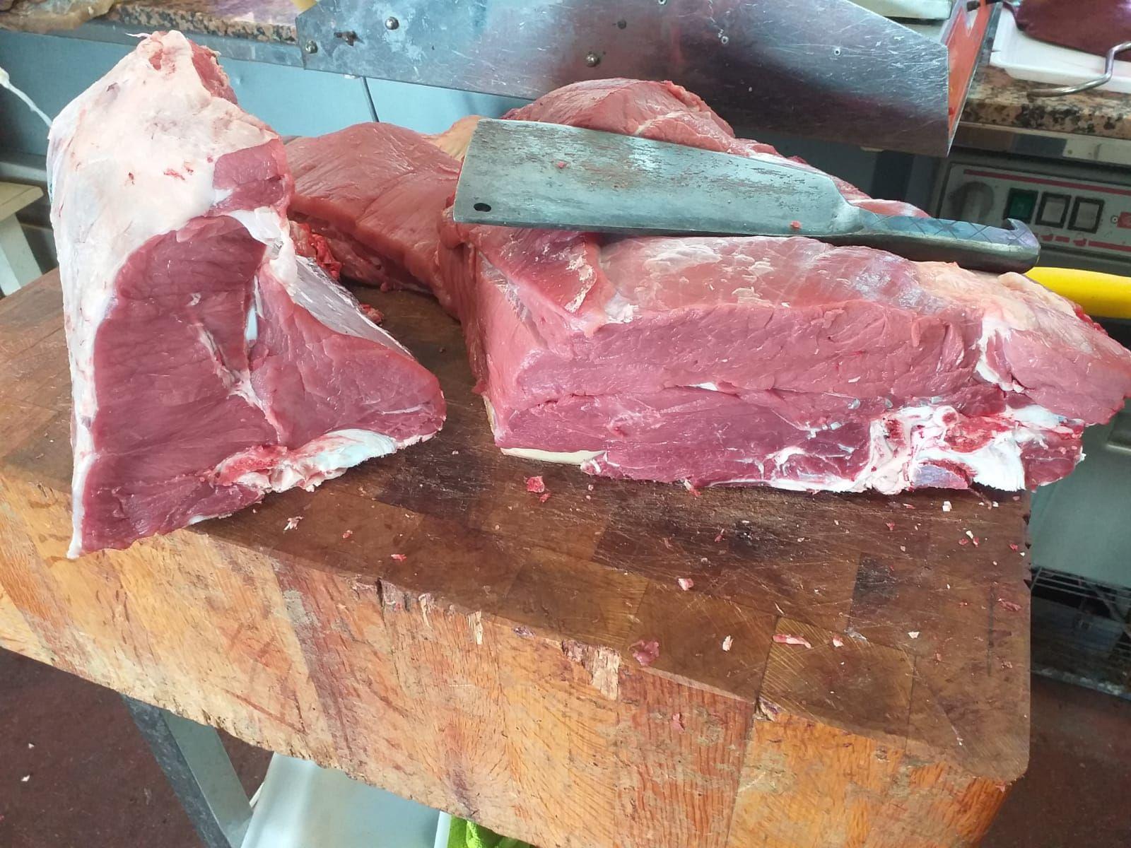 Carne gallega en Coles