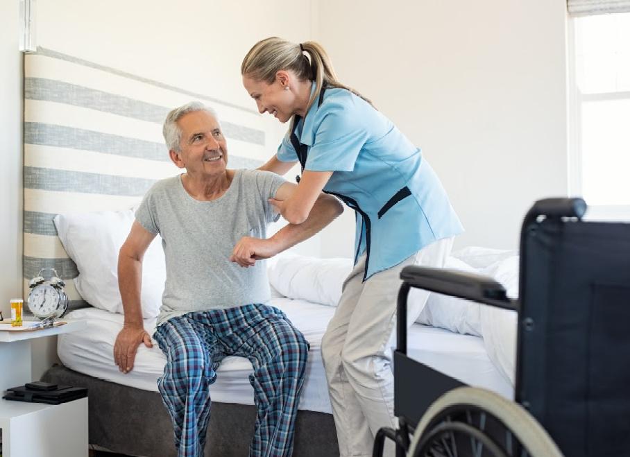 El cuidado de las personas mayores en la mejores manos, con servicios personalizados
