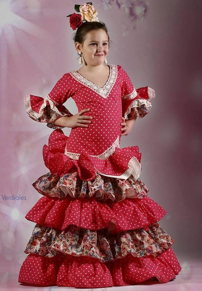 Vestidos de sevillana de niña en Zaragoza