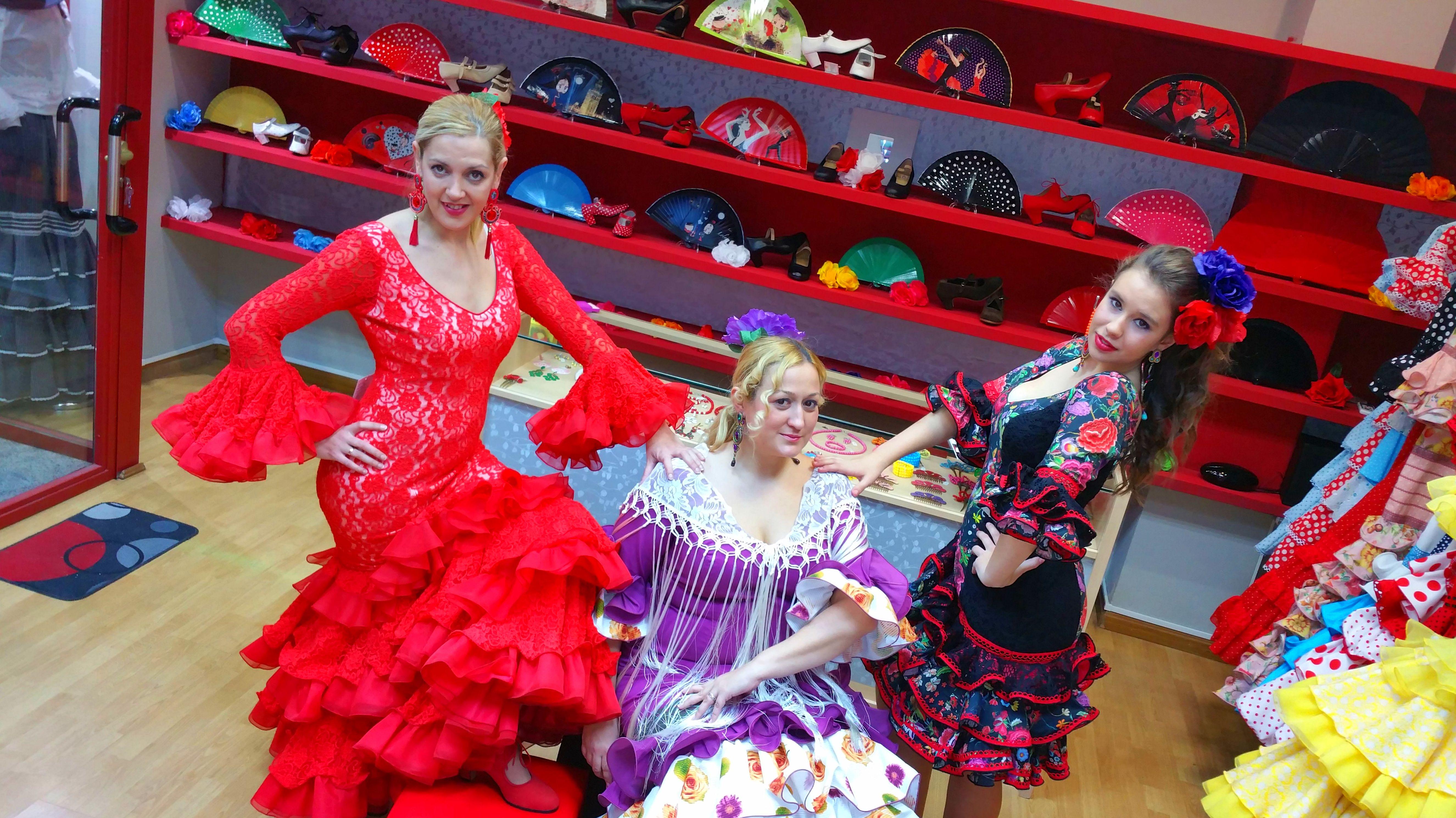 Vestidos de sevillana Zaragoza, La Flamenquilla