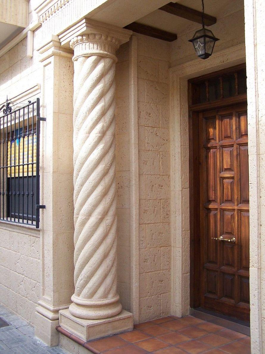 Piedra artificial para fachadas