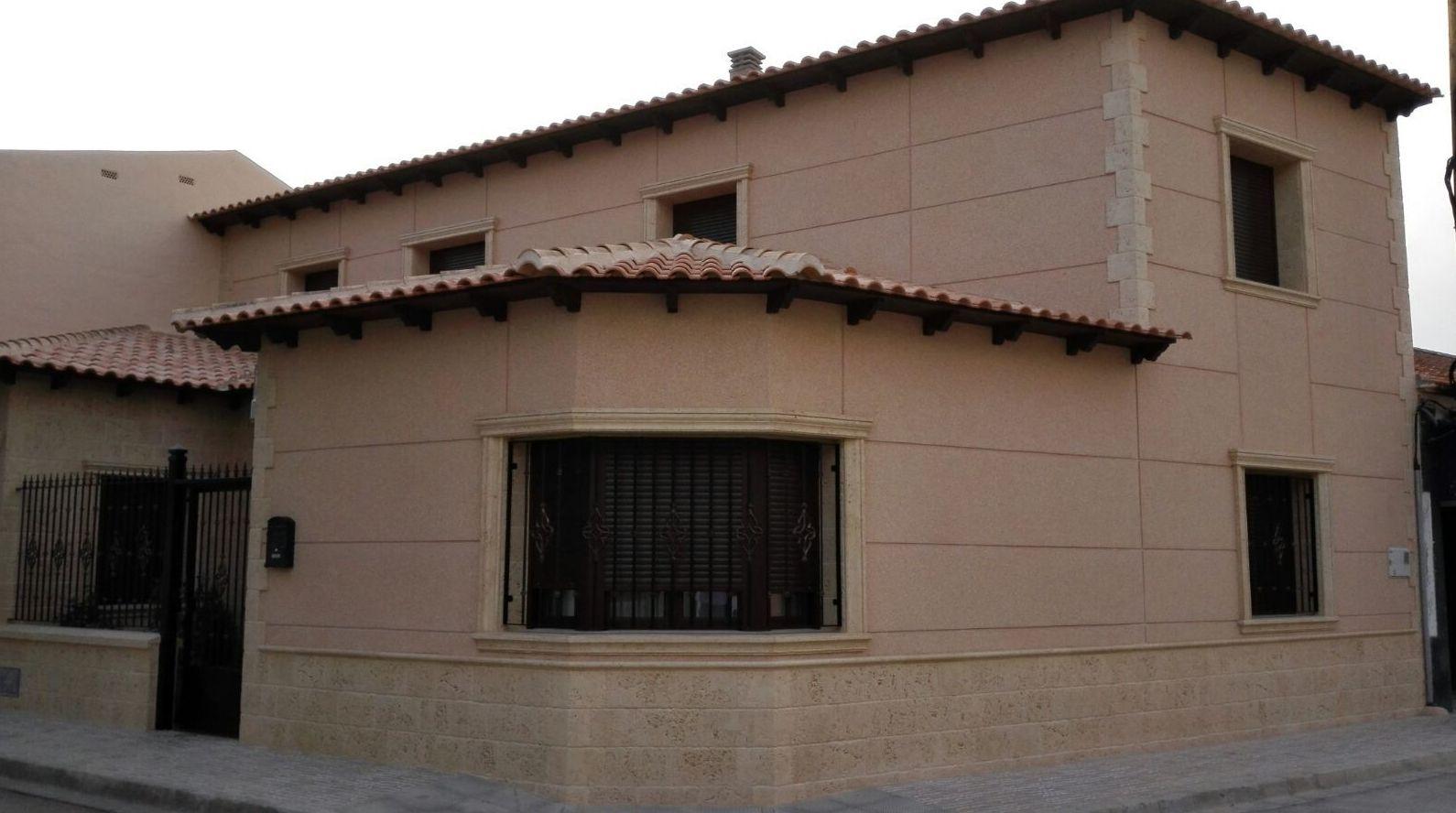 Foto 13 de piedra artificial en san clemente cymavi - Piedra artificial para fachadas ...