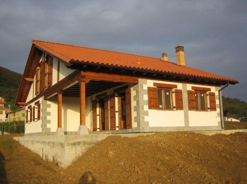 Casas prefabricadas r sticas en navarra casas del irati - Terreno para casa prefabricada ...