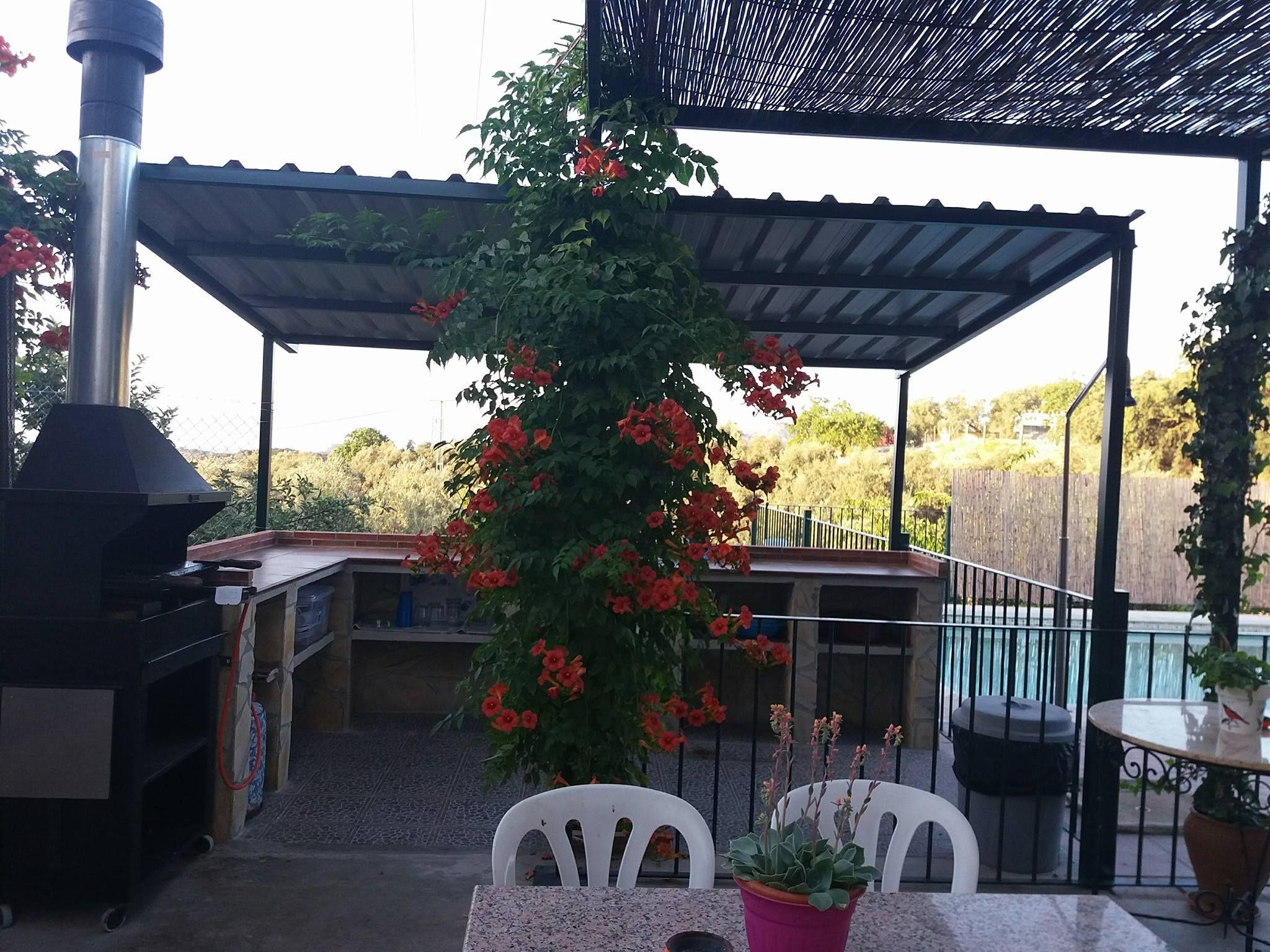 Barbacoa de Cortijo Rural Puerto Nuevo en Archidona