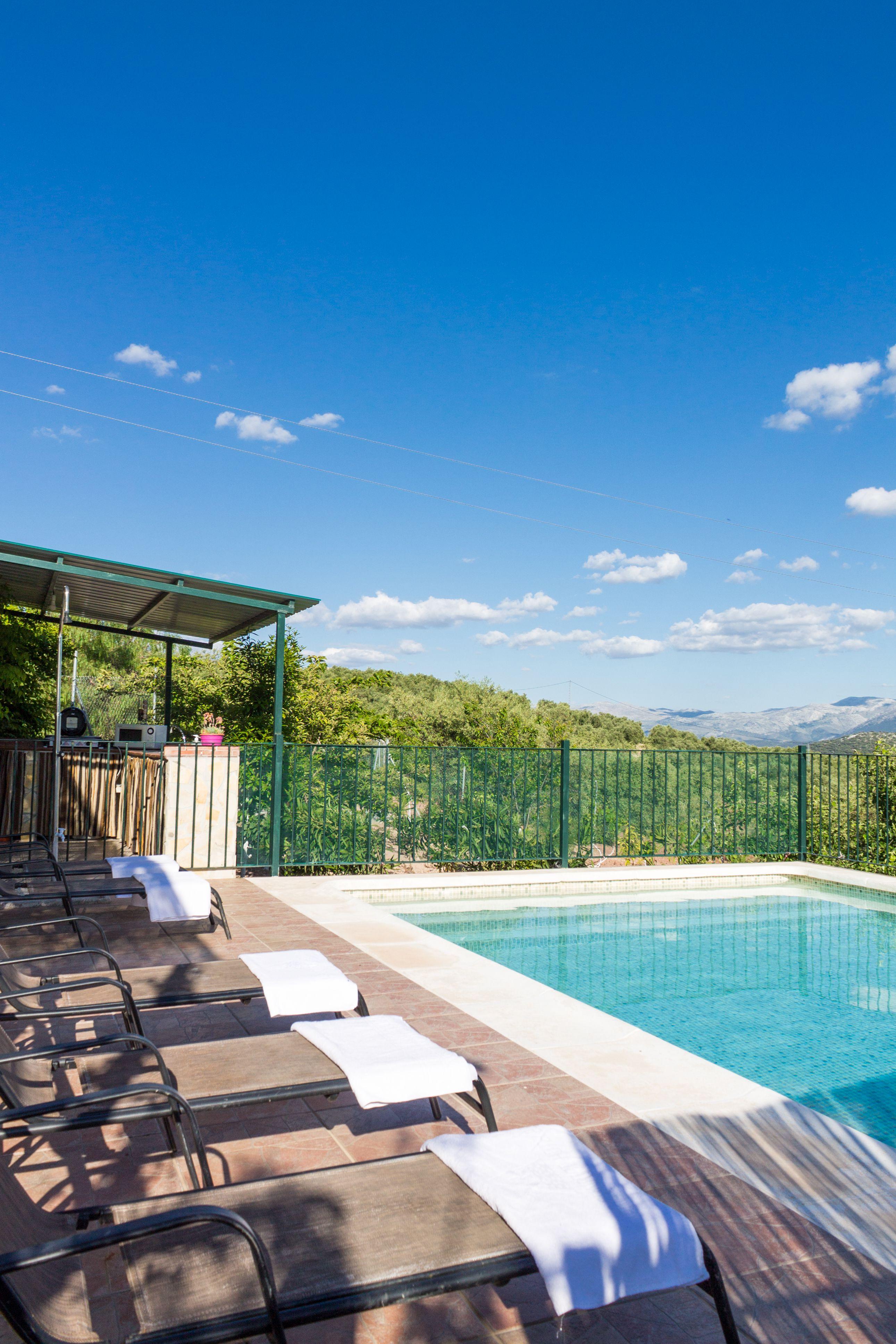 Cortijo con piscina en Málaga