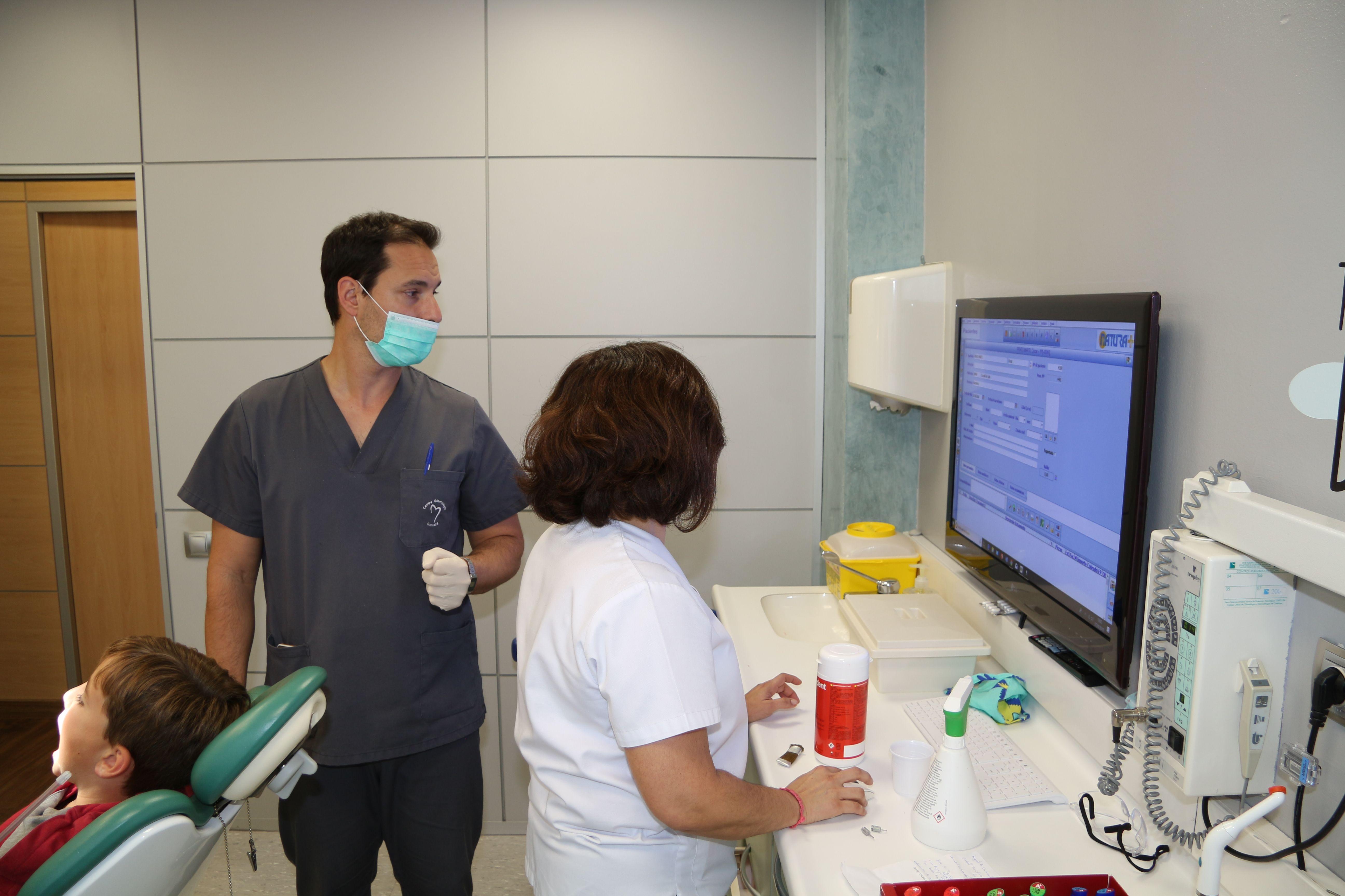 Escáner intraoral en Cornella de Llobregat