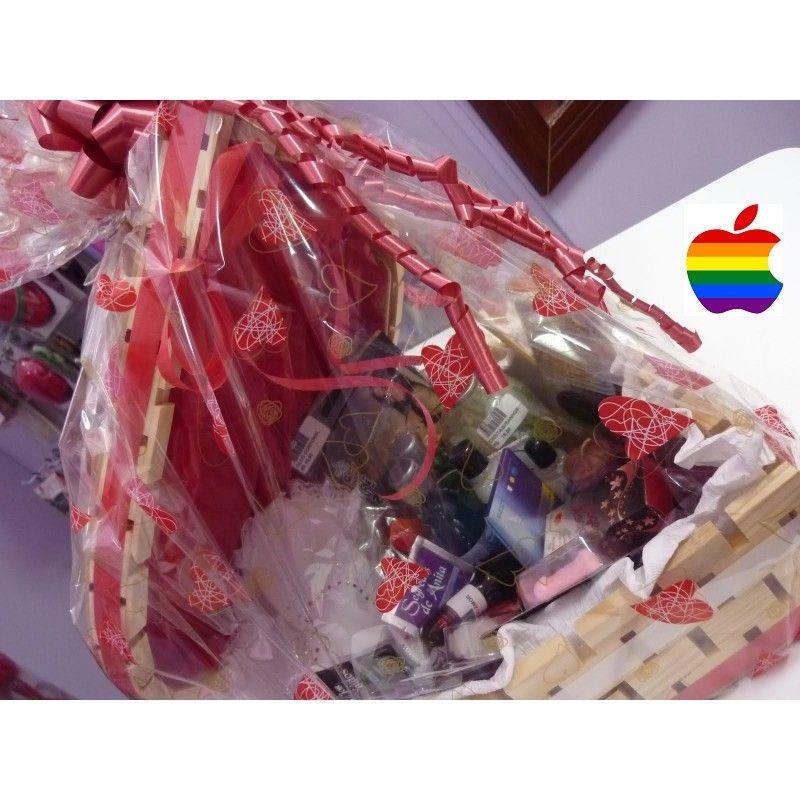 Cestas eróticas para parejas les: Productos de Boutique Travesuras