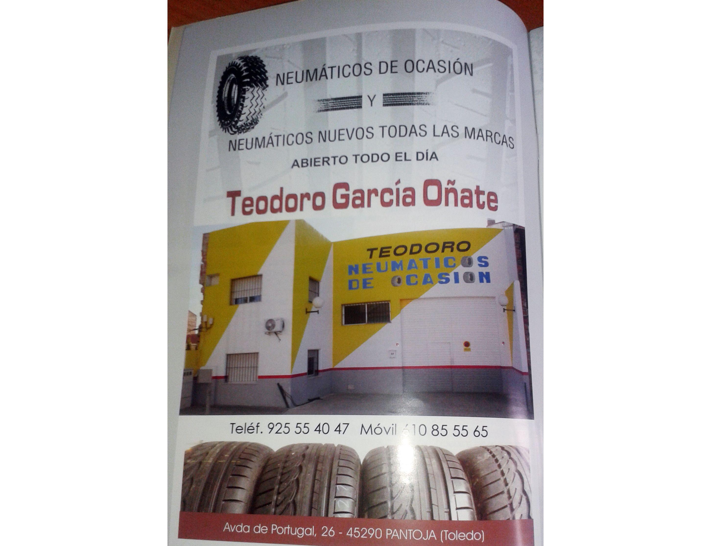 Neumáticos de ocasión en Madrid sur
