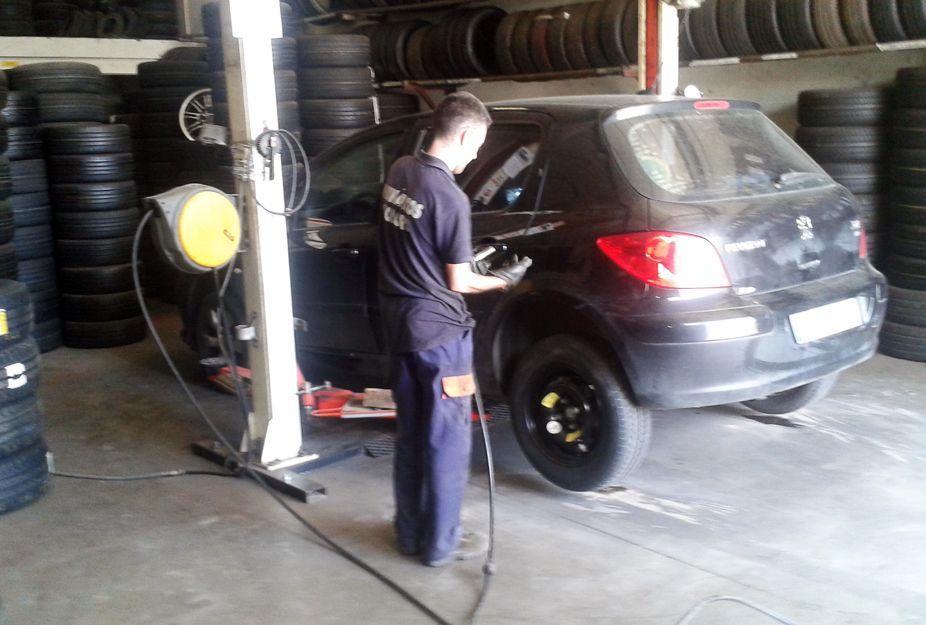 Cambiar neumáticos en Madrid Sur