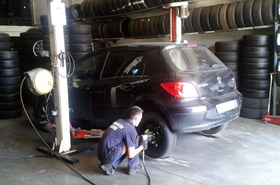 Cambiar neumáticos en Toledo