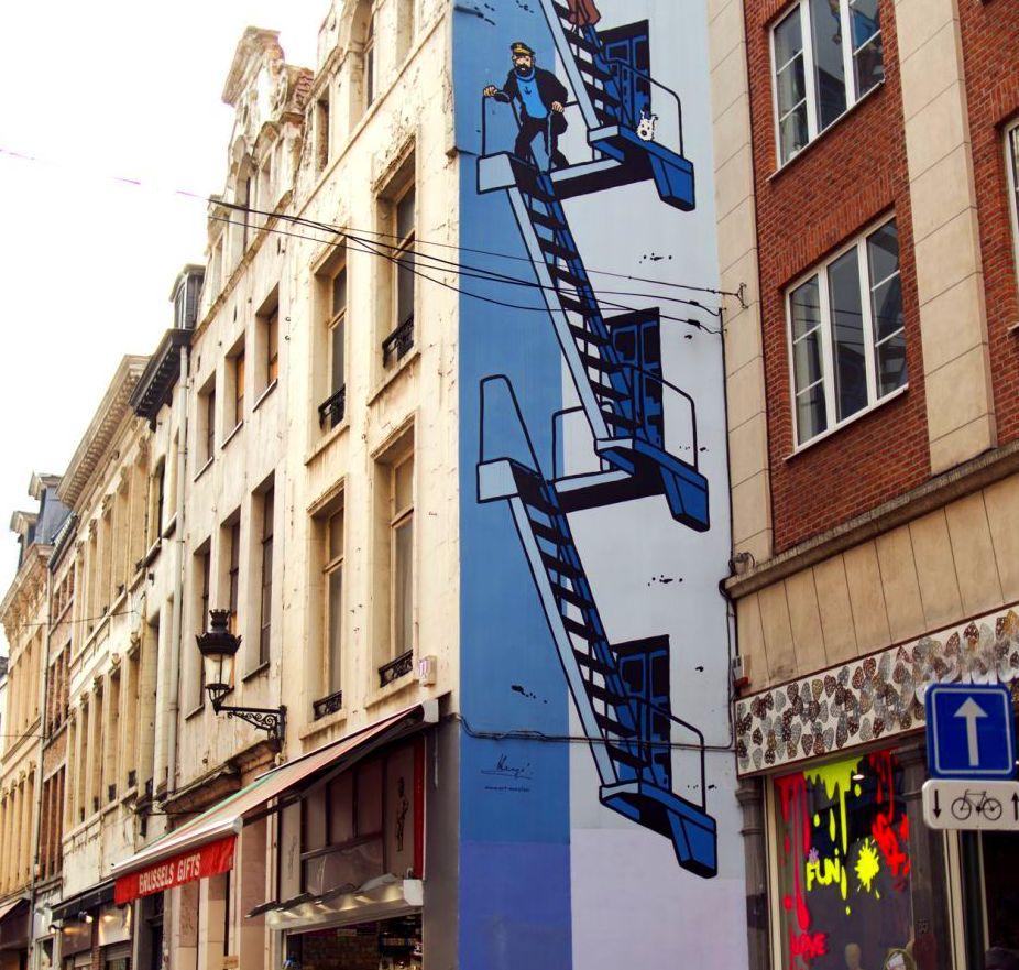 Bruselas, ciudad del comic