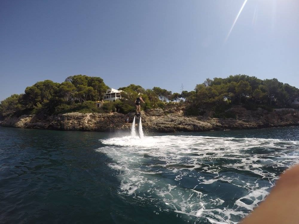 Alquiler de flyboard en Palma de Mallorca