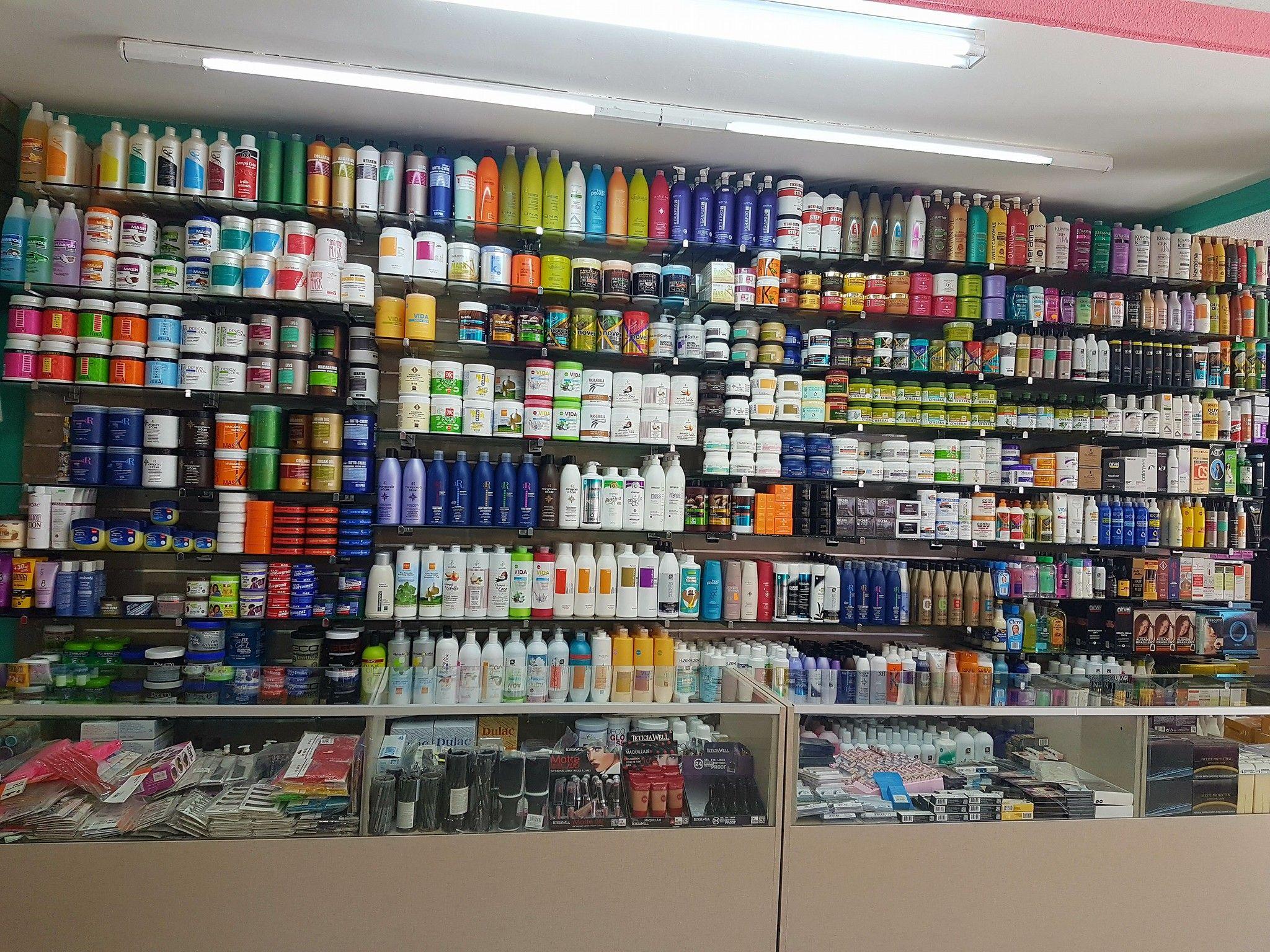 Distribución de productos cosméticos y de peluquería
