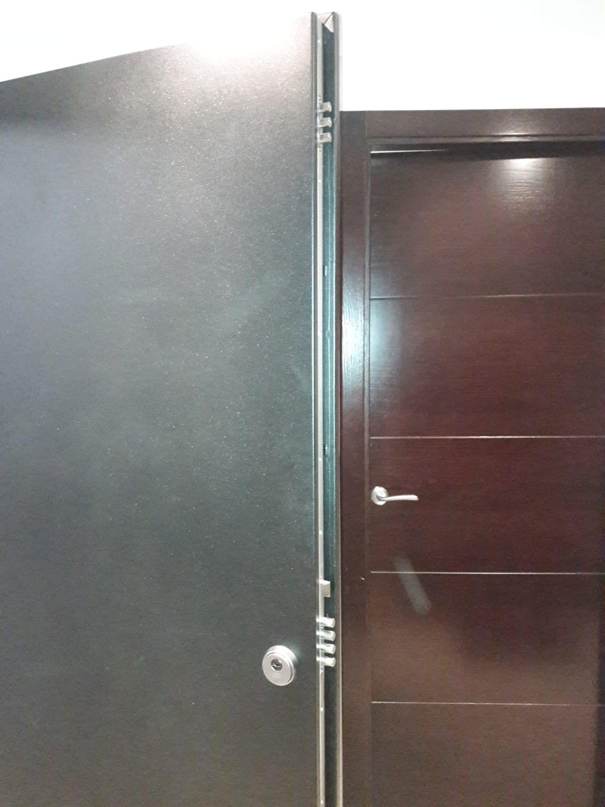 Puertas cortafuegos en el Eixample, Barcelona