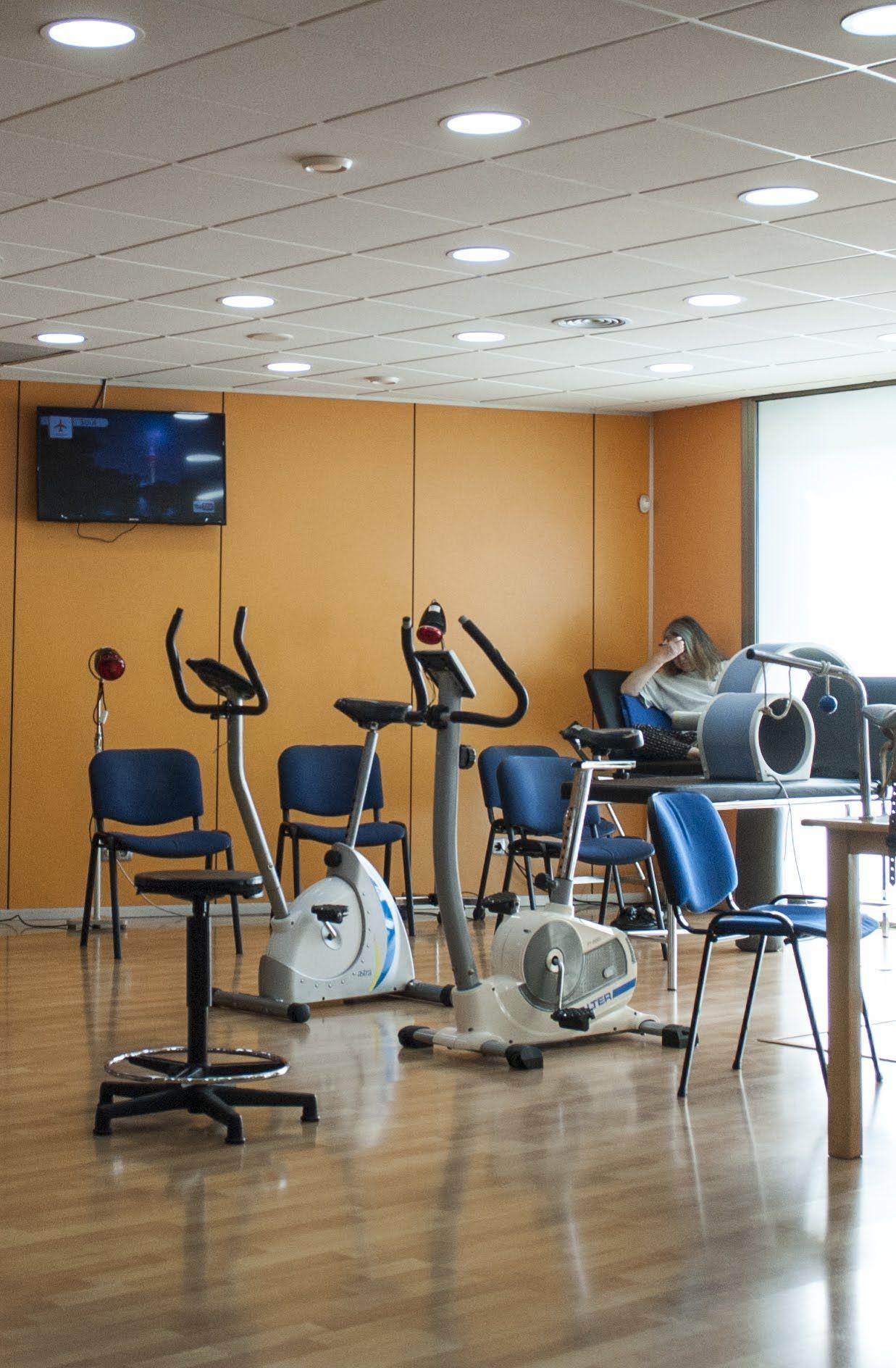 Sala rehabilitación deportiva  Centre Medic Meisa
