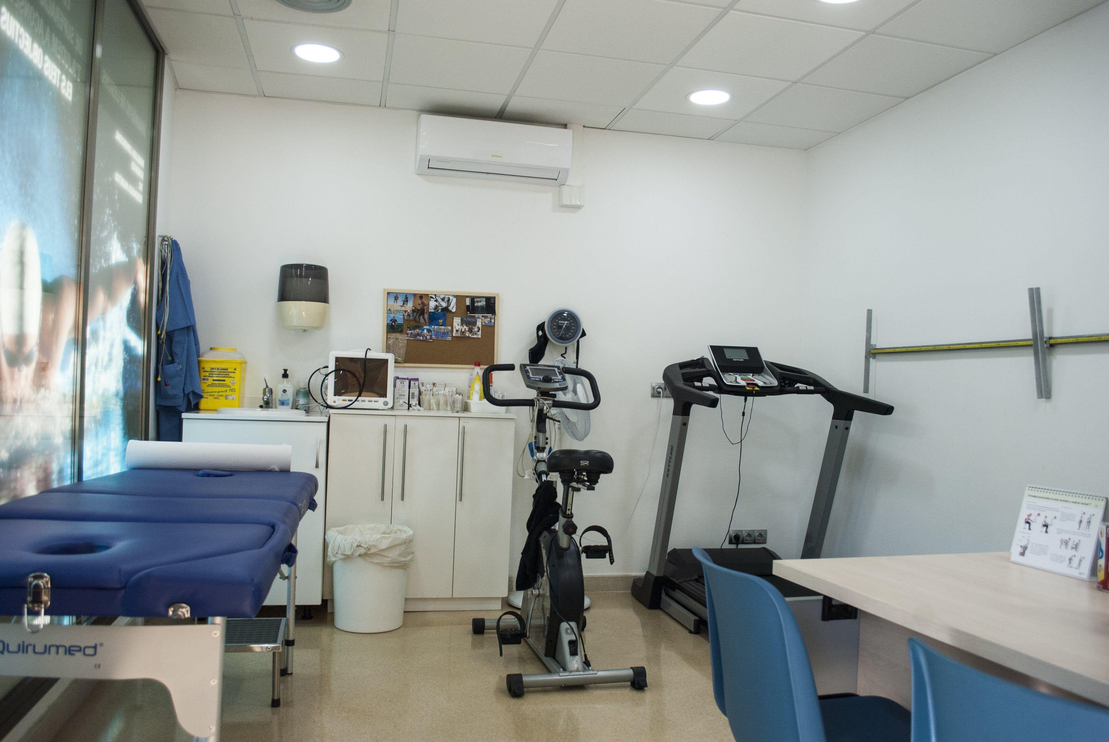 Sala rehabilitación Centre Medic Meisa