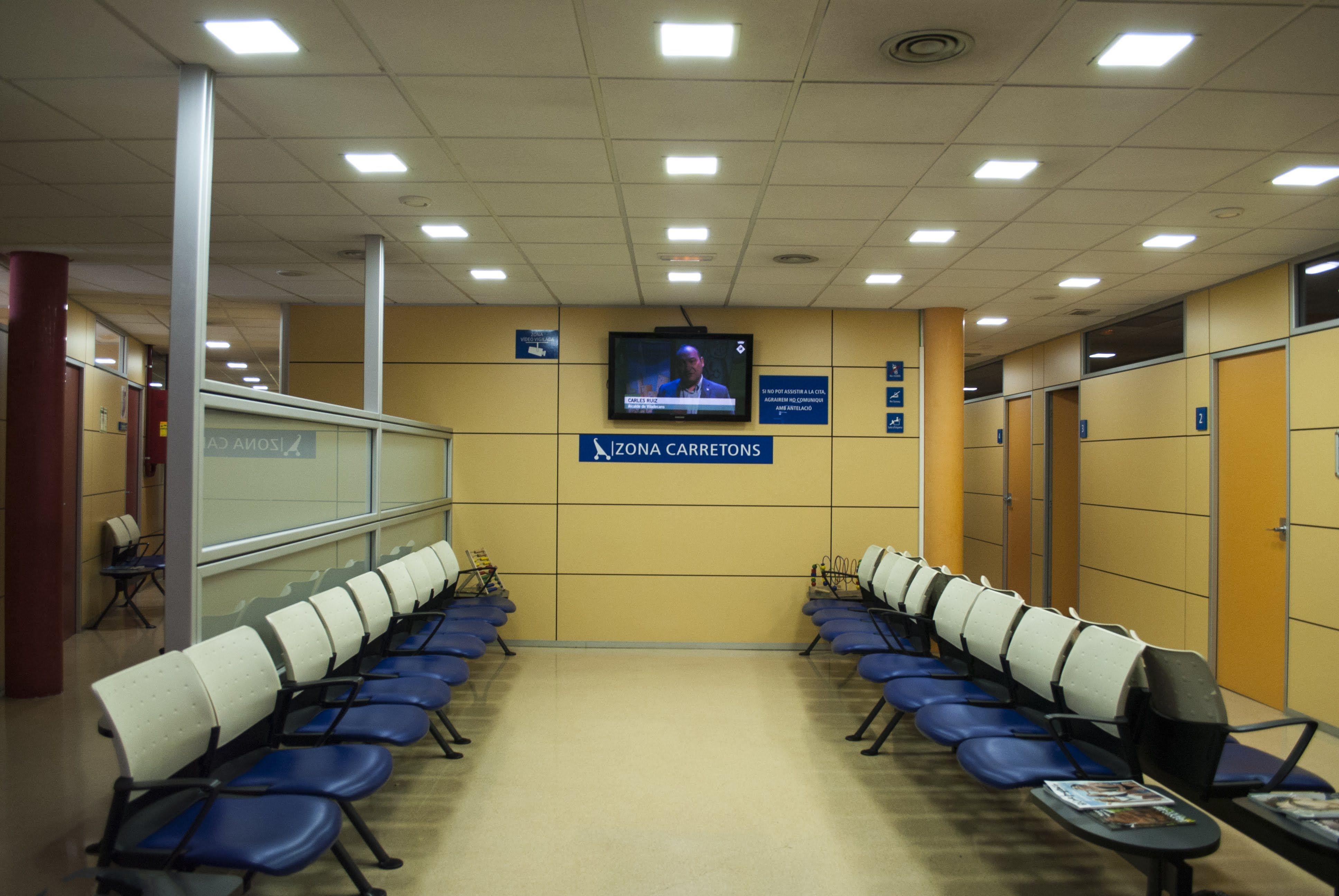 Sala de espera Centre Medic Meisa