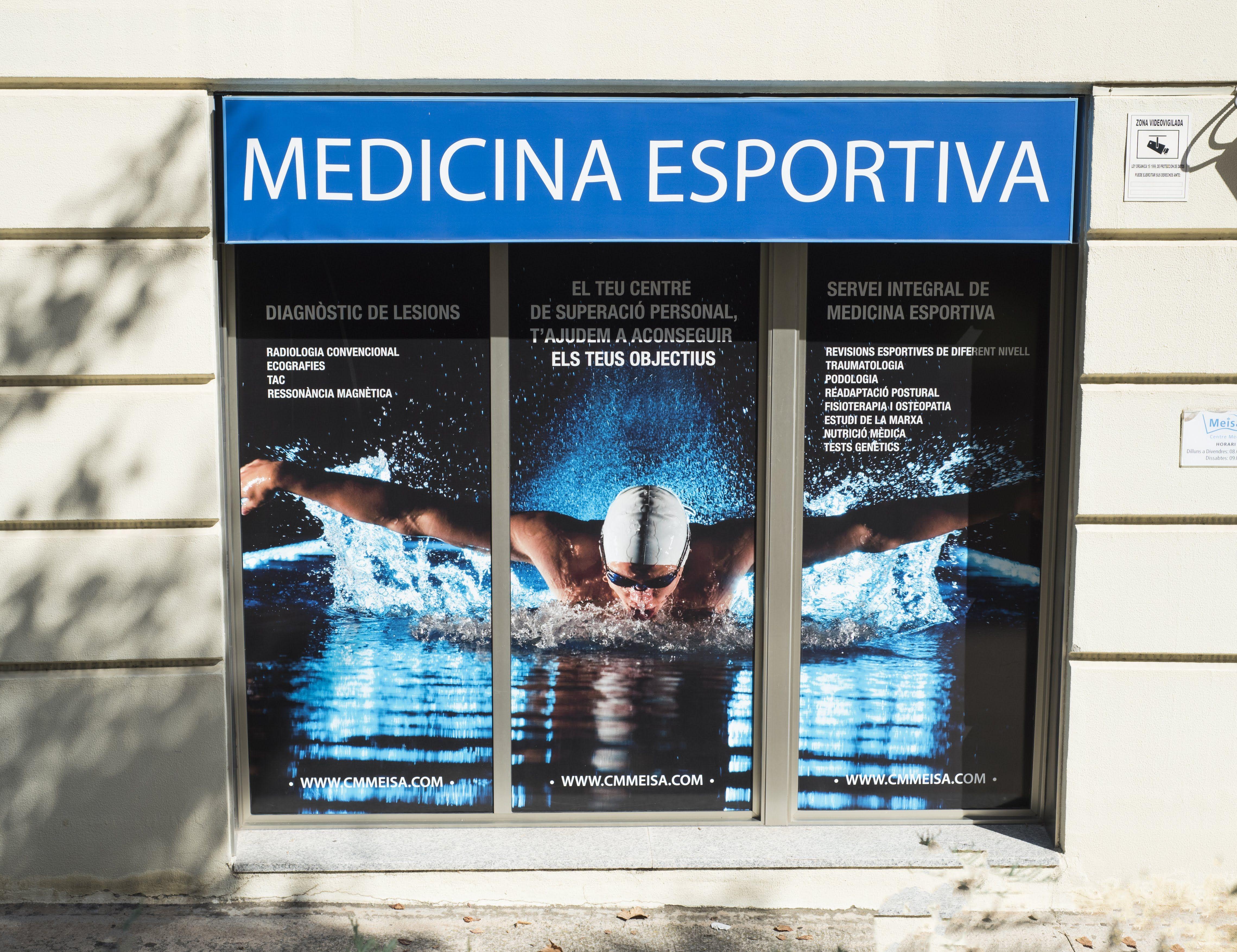Escaparate  Centre Medic Meisa