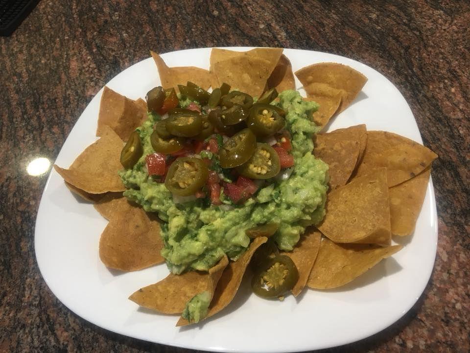 Auténticos nachos mexicanos