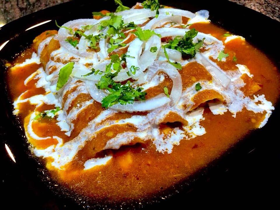 Enchiladas: Auténtico Mexicano de Los Mexicanos Restaurante