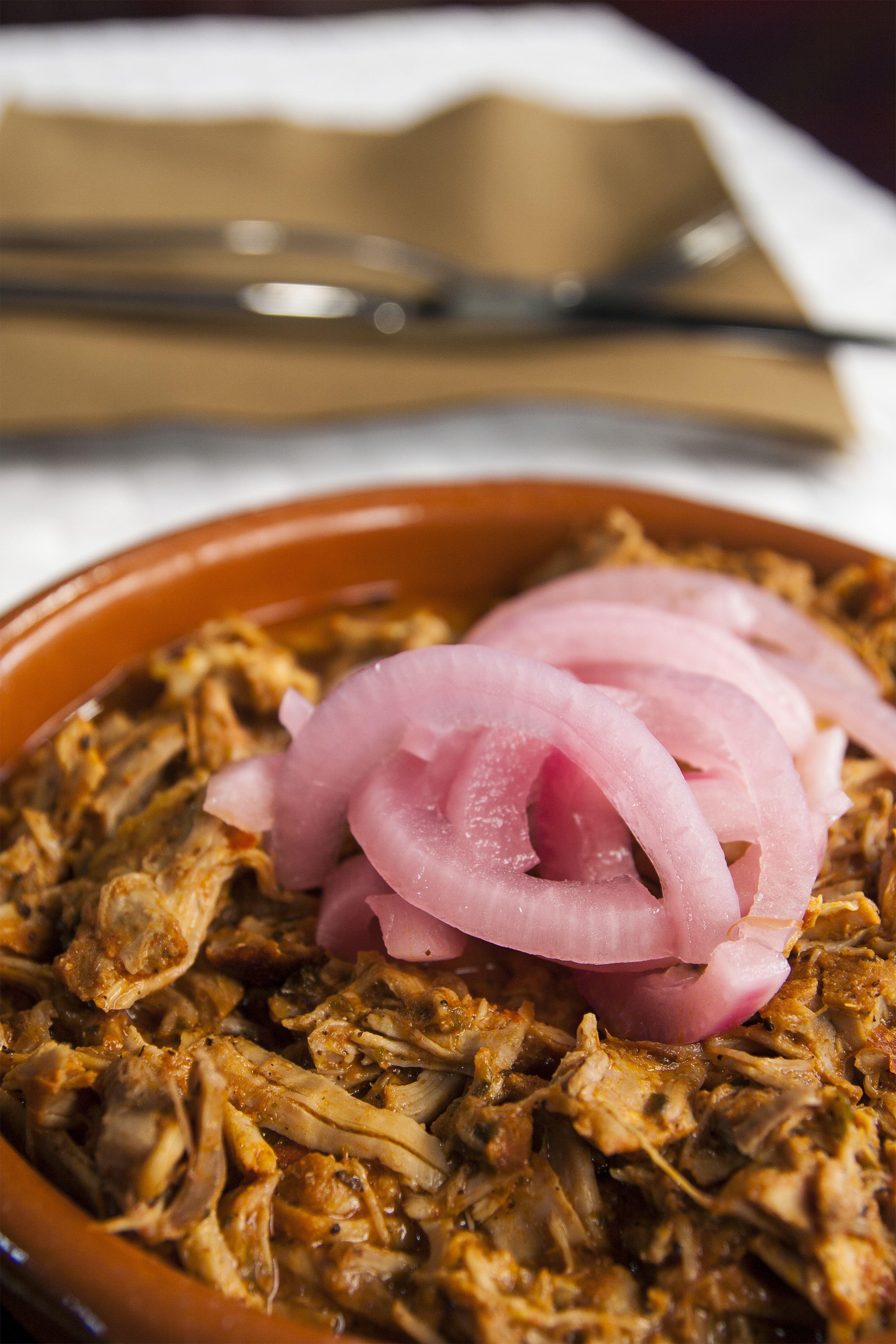 Carne mechada Los Mexicanos Restaurante
