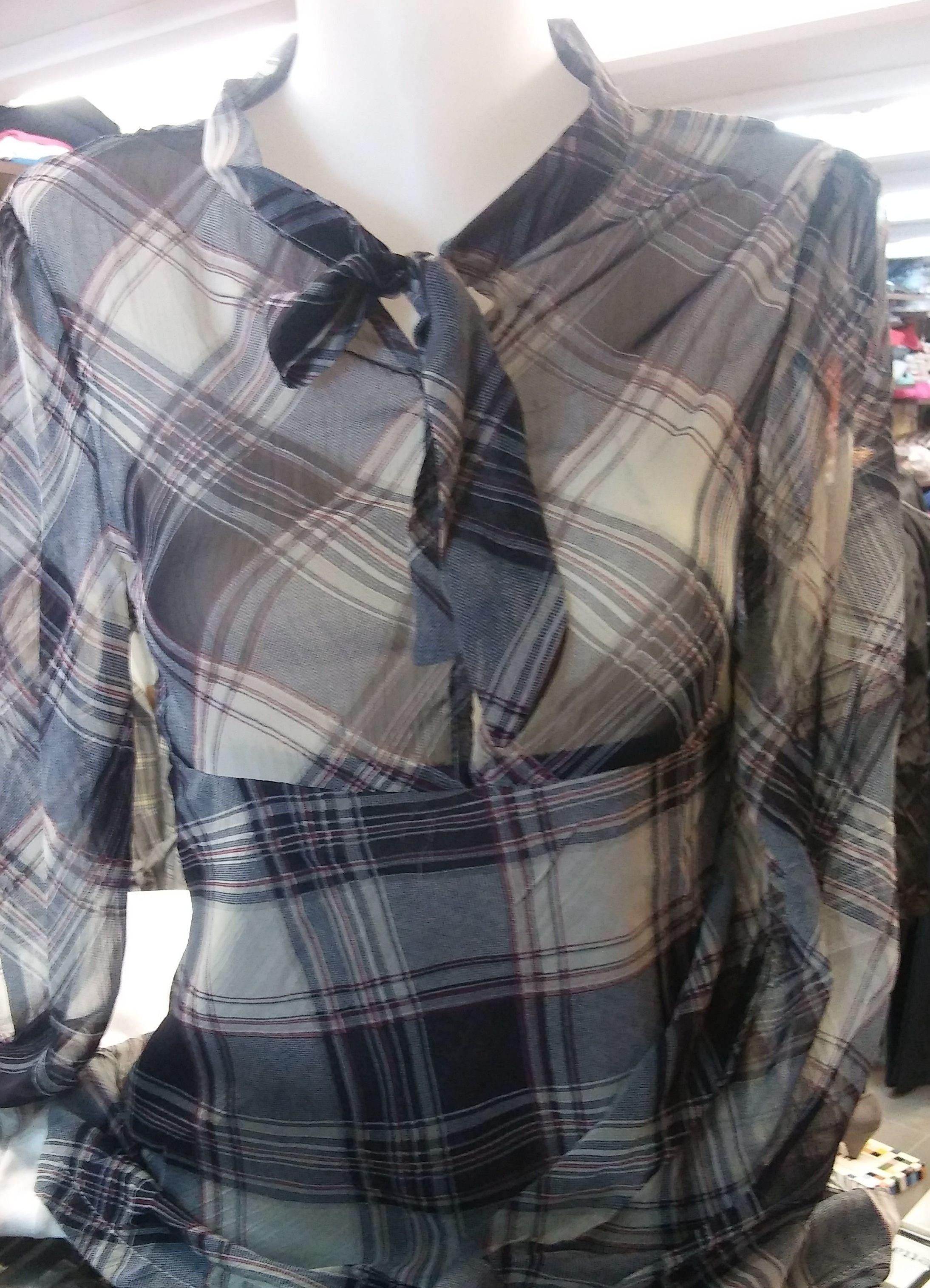 blusa cuadros : Productos de As Tuas Cousas