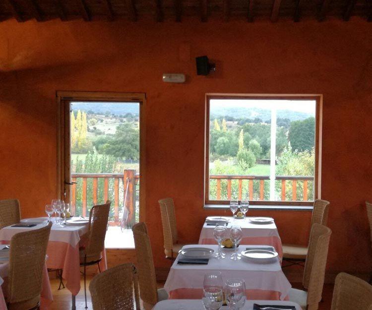 Comida casera en nuestro restaurante en Bonilla de la Sierra