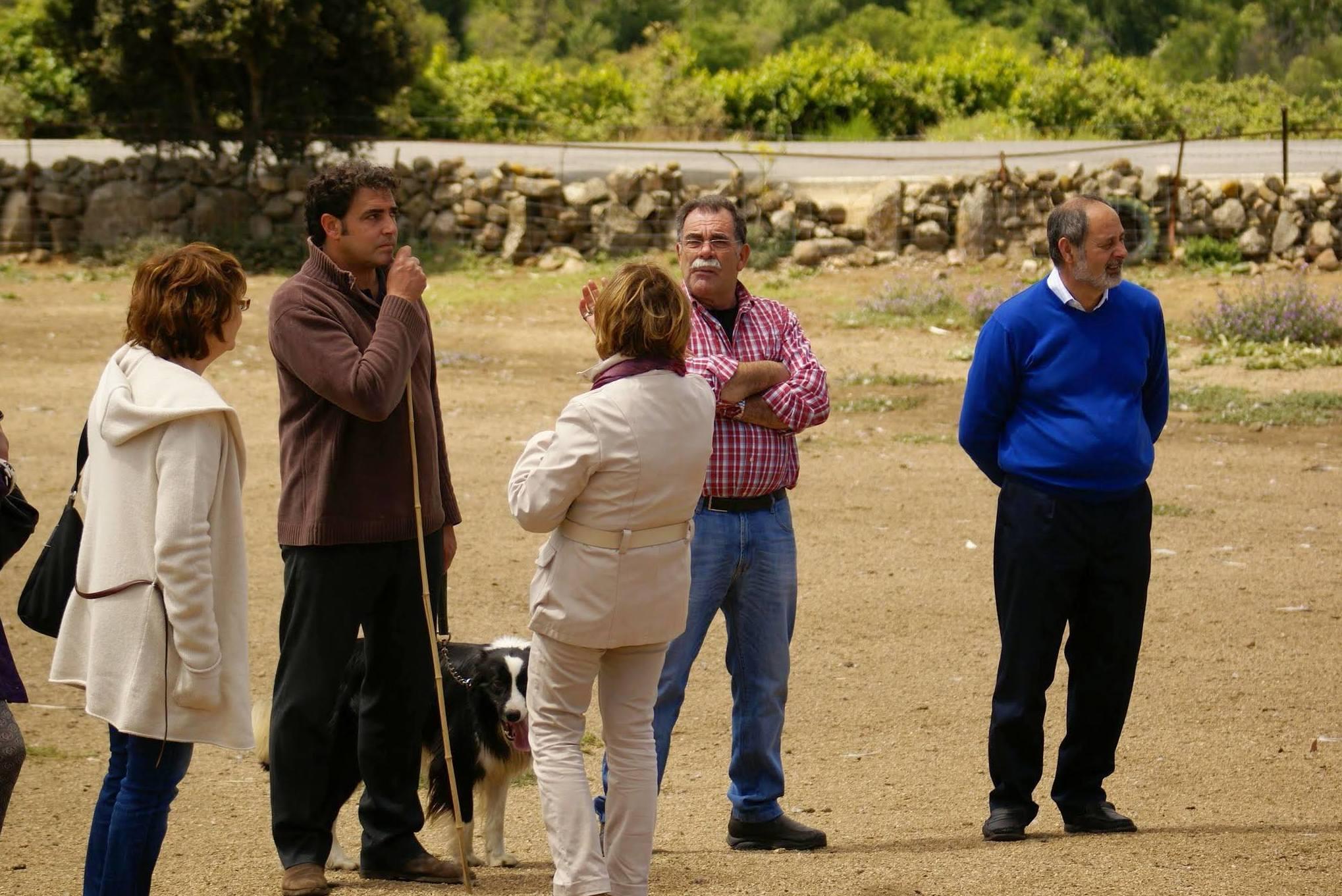 VISITA DE LOS CLÁSICOS A NUESTRA GRANJA DEL GANSO IBÉRICO EN VILLAFRANCA DE LA SIERRA.