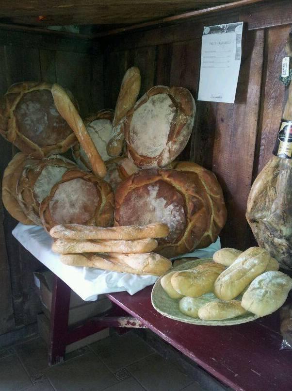 Los panes de La Hueveria del ganso