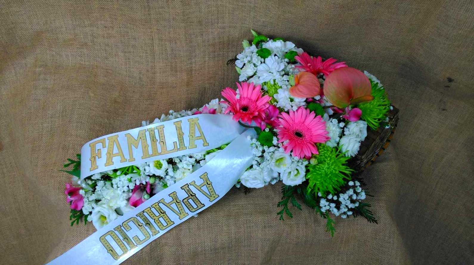 Flores a tanatorios Oviedo