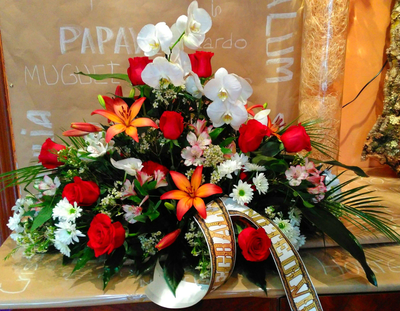 Coronas de flores Oviedo