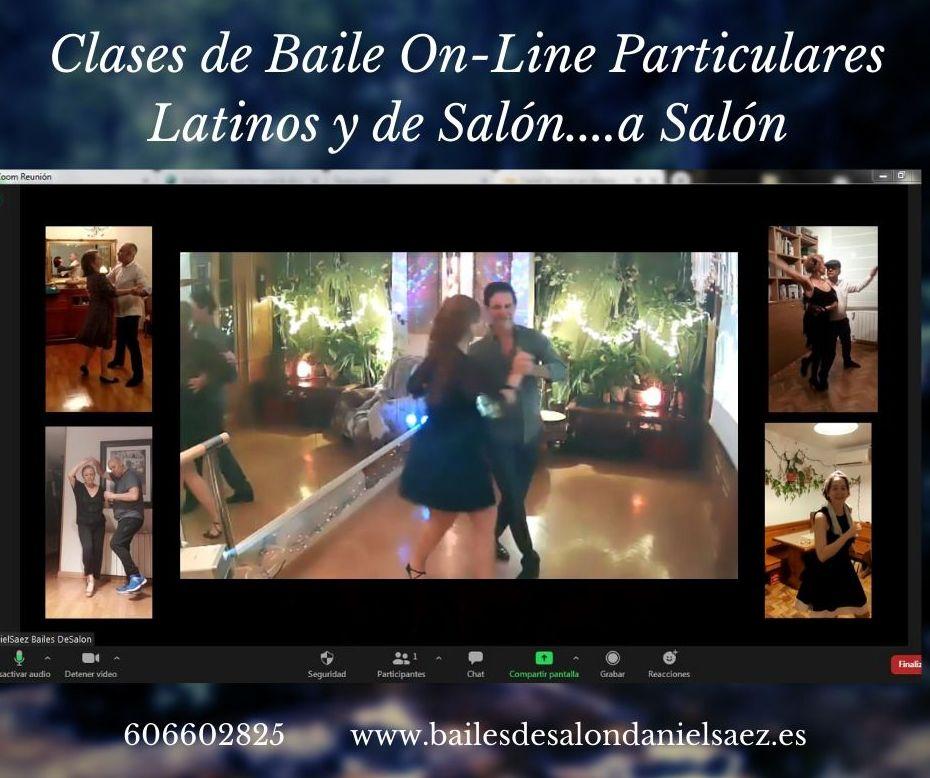 Clases Particulares OnLine: Nuestras Clases de Bailes de Salón Daniel Sáez