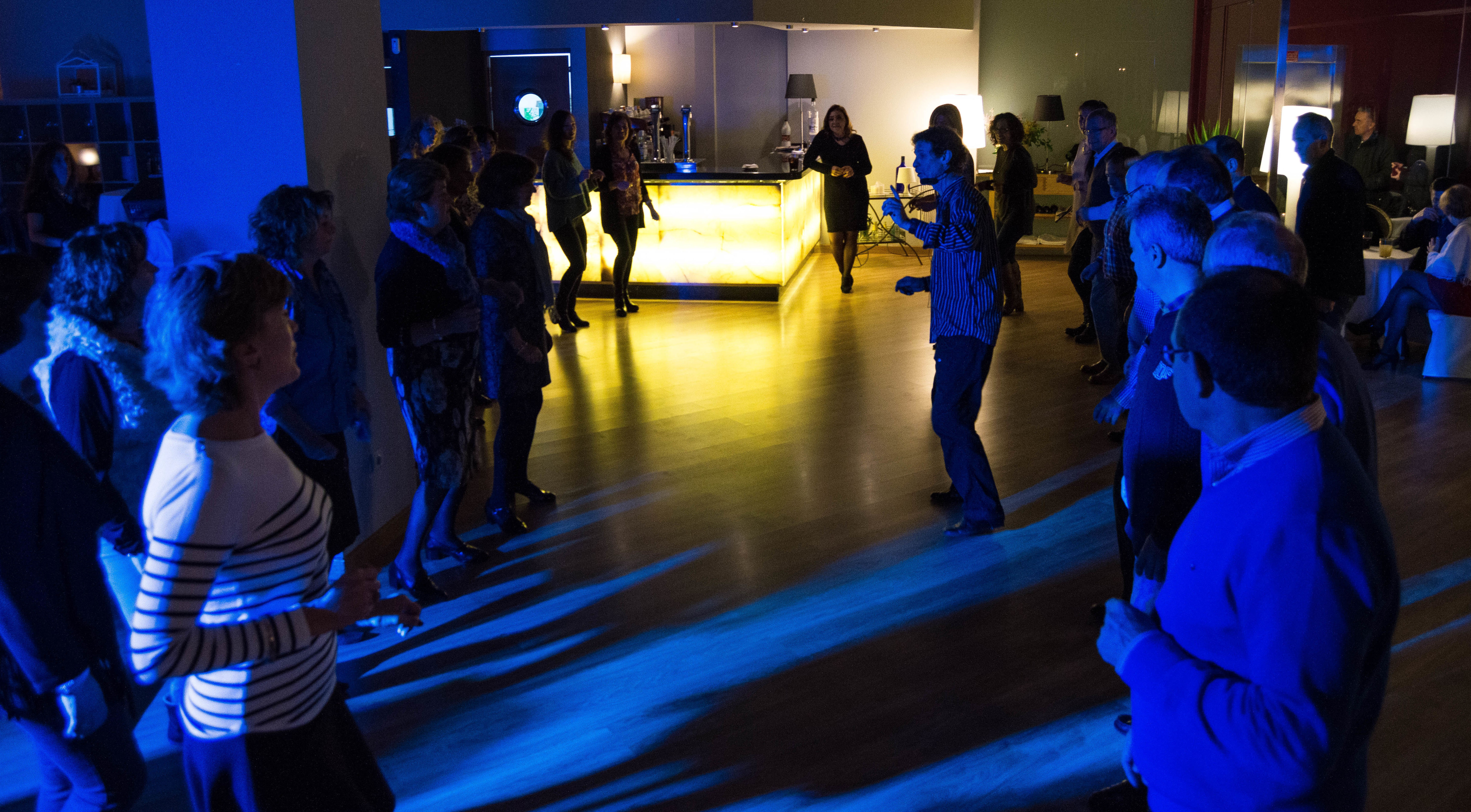 Clases colectivas: Nuestras Clases de Bailes de Salón Daniel Sáez
