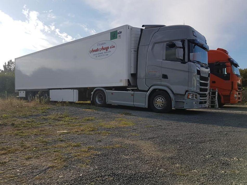 Foto 2 de Transportes frigoríficos en Palas de Rei | Trans. Armesto Arango, S. L.