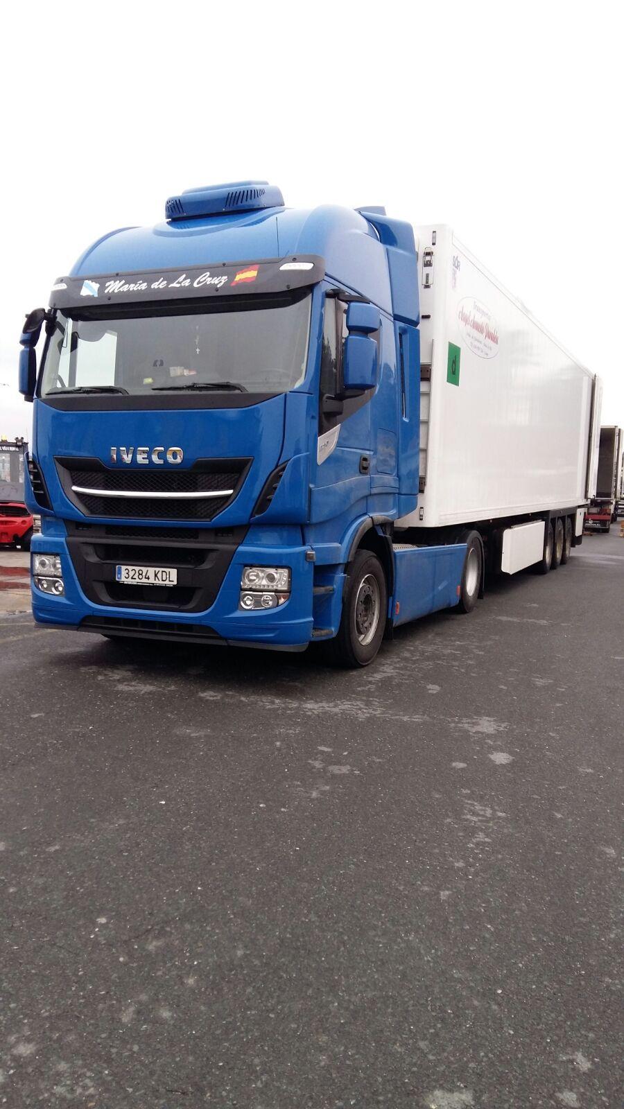 Transporte de importación y de exportación: Servicios de Trans. Armesto Arango, S. L.