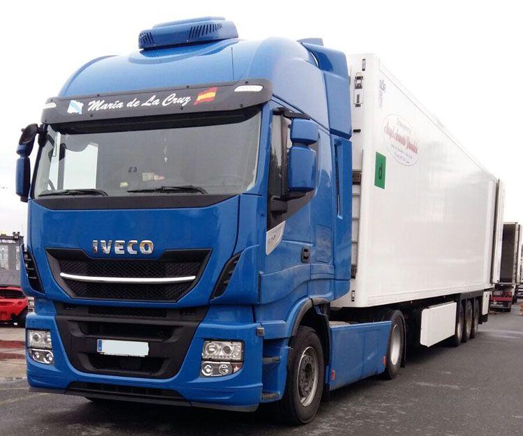 Transporte de productos perecederos en Lugo