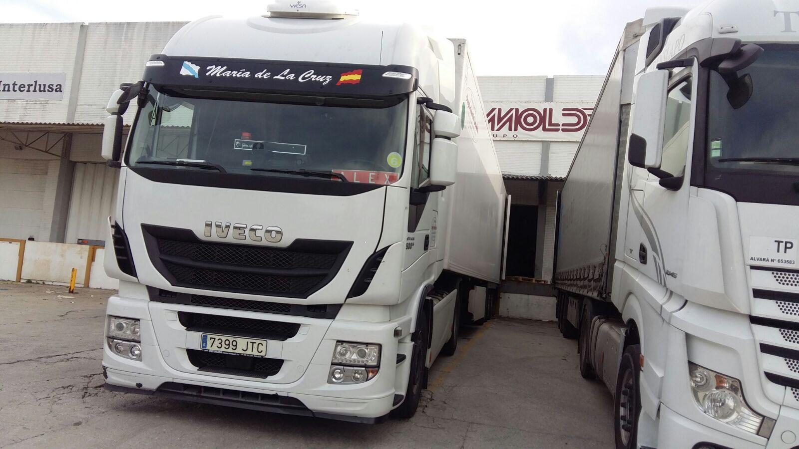 Transporte internacional: Servicios de Trans. Armesto Arango, S. L.