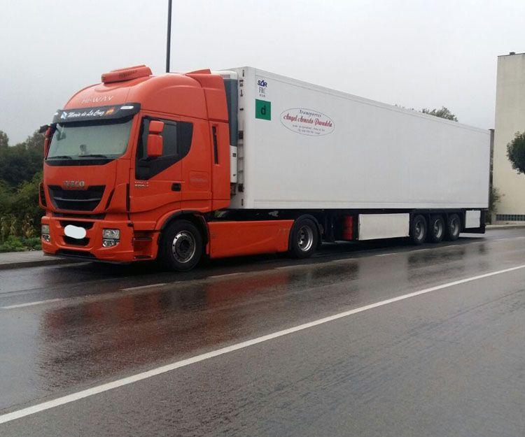 Transporte de mercancías a baja temperatura por carretera