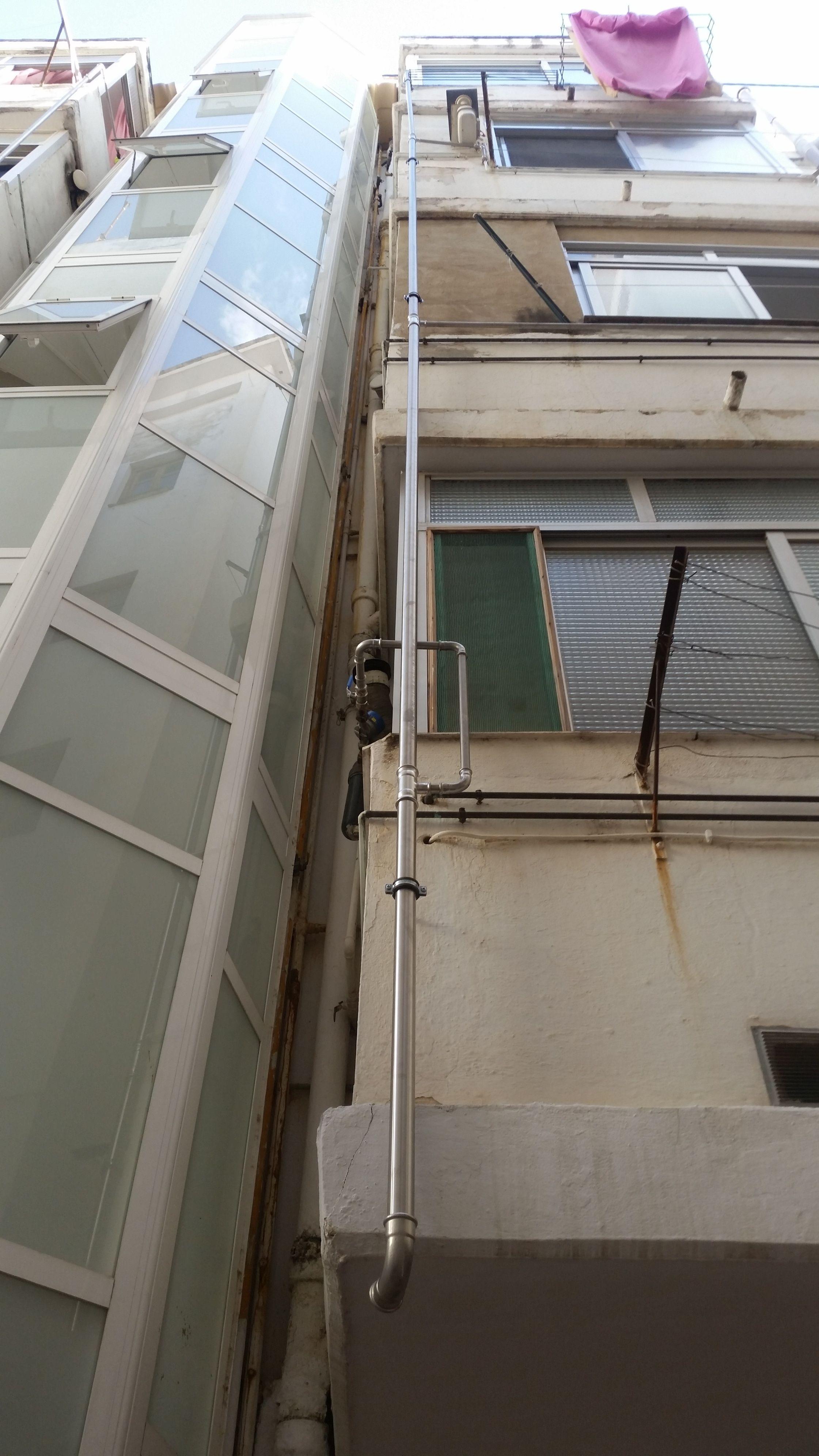 Instalaciones de fontanería en edificios en Valencia