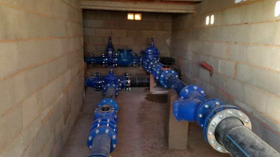 Instalaciones industriales de tratamientos de aguas