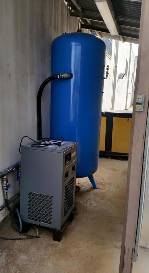 Instalaciones de aire comprimido: Servicios/Venta de equipos de Instalaciones Alba