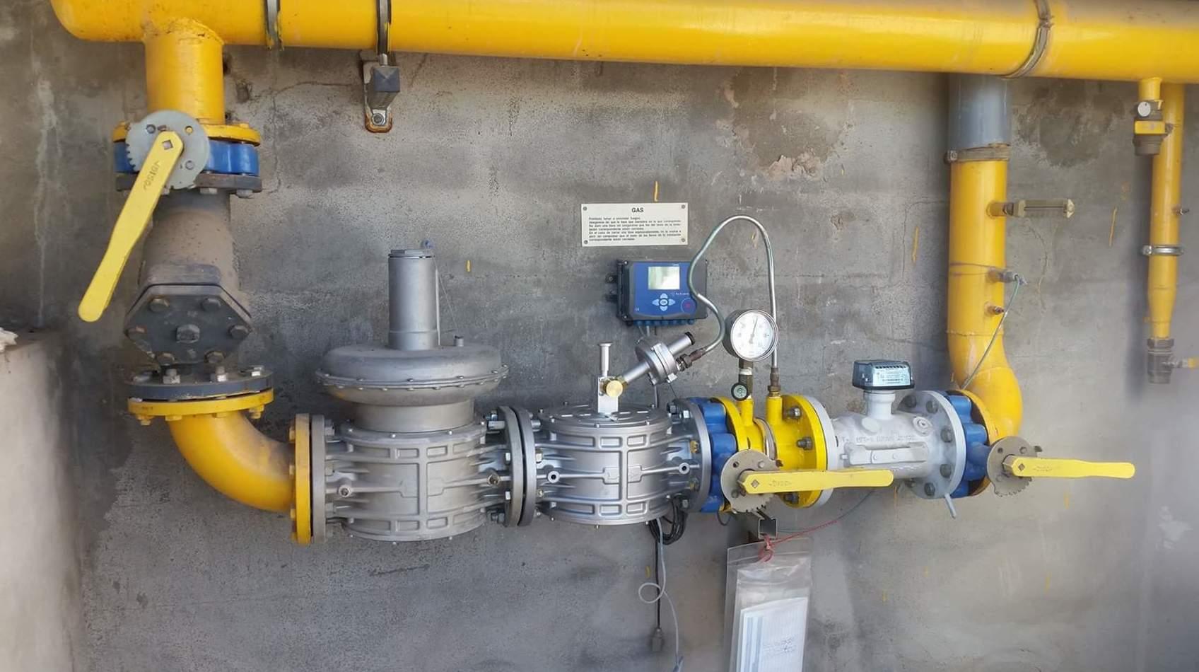 Instalaciones industriales de gas en Valencia